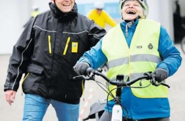 E-Bike Kurs, Zuger Zeitung vom 12.04.2019 Bild