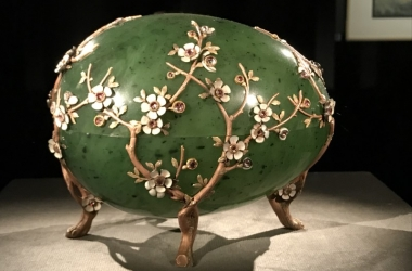 18 Schatzkammer Apfelblütenei Fabergé