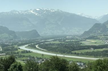 35 Rheintal- Blick