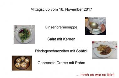 Mittagsclub Menu 1 (Andere)