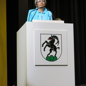 Cornelia Epprecht verkündet die Rangierung