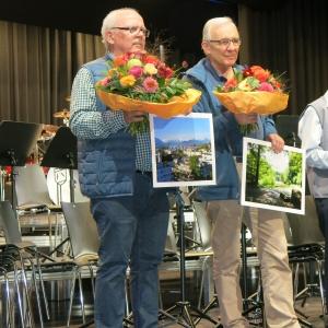 Ruedi Wehrle und Alfred Imhof