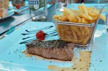 Mittagsmenu in Chevroux